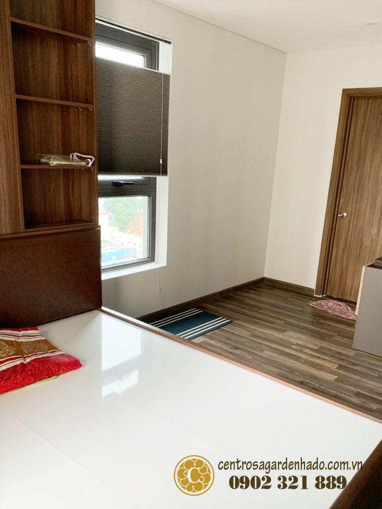 Một góc nhìn trong phòng ngủ chính centrosa 2pn cho thuê