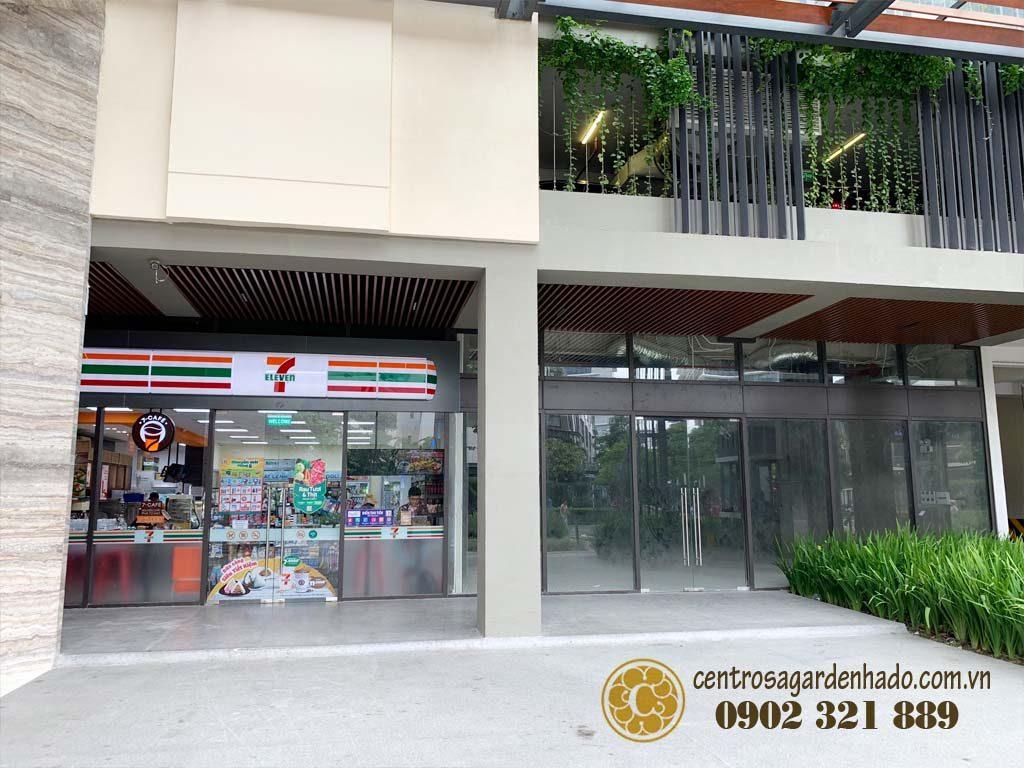 Shophouse tại Hado Centrosa Garden cho thuê