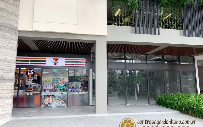 Cho thuê Shophouse tại khối đế các tòa nhà khu Hado Centrosa Garden