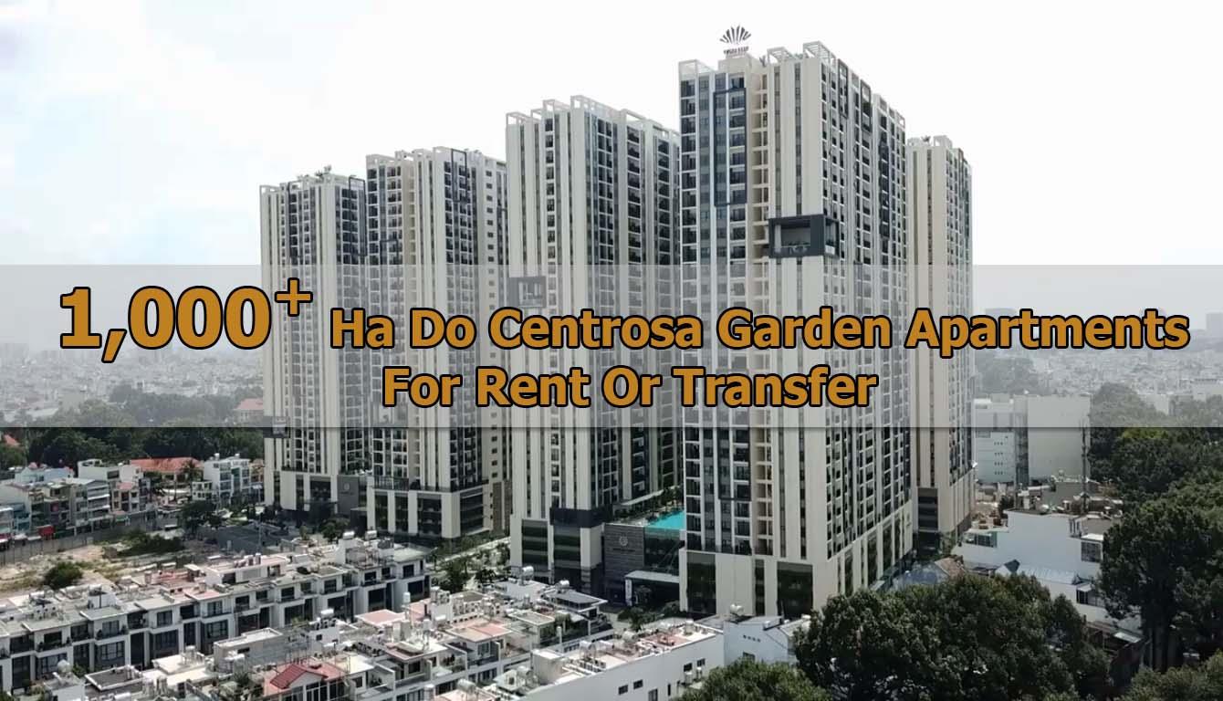 1,000+ Ha Do Centrosa Garden apartments for rent or transfer