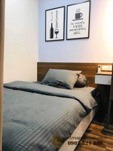 Không gian phòng ngủ được thiết kế mang vẻ đẹp của nội thất đơn giản