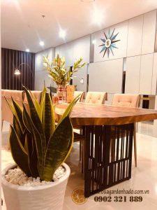 phòng ăn căn hộ hado centrosa garden tòa orchid 2 - 1