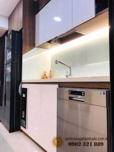 Không gian nấu nướng tại căn hộ hado centrosa garden