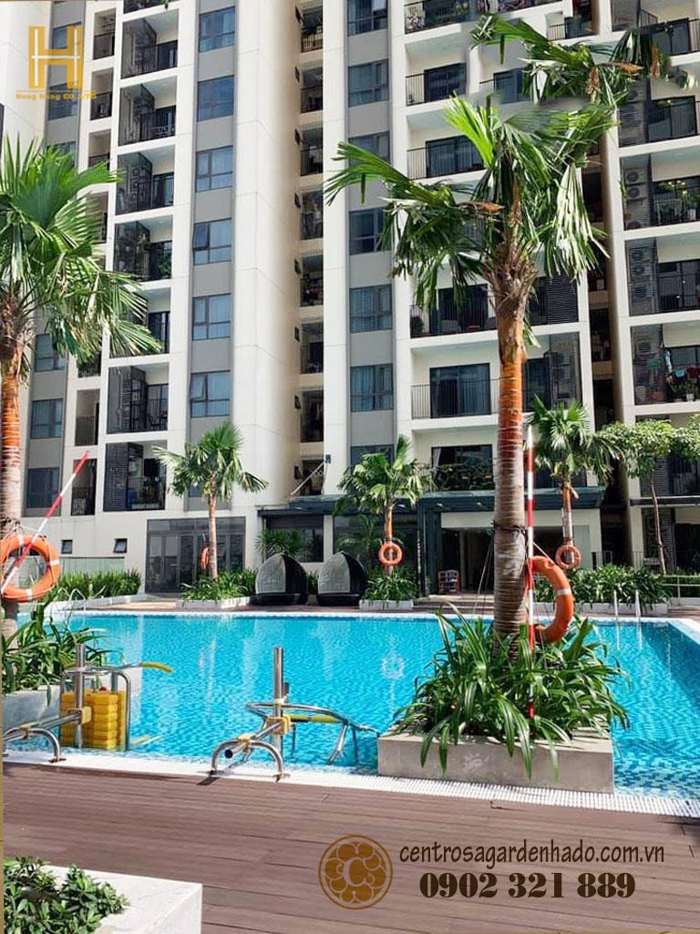 Bán căn hộ Hà Đô Centrosa Garden tòa J2 108 m2 cùng 12m2 sân vườn